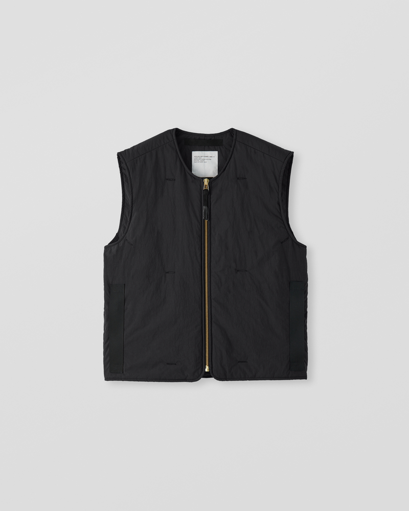 Image of AM2-1C Liner Vest Black