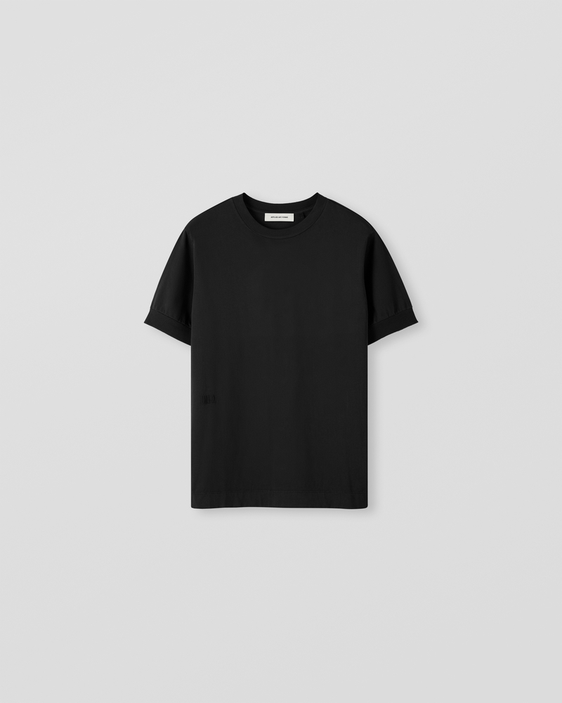 Image of LM1-2 Rib T-Shirt Black