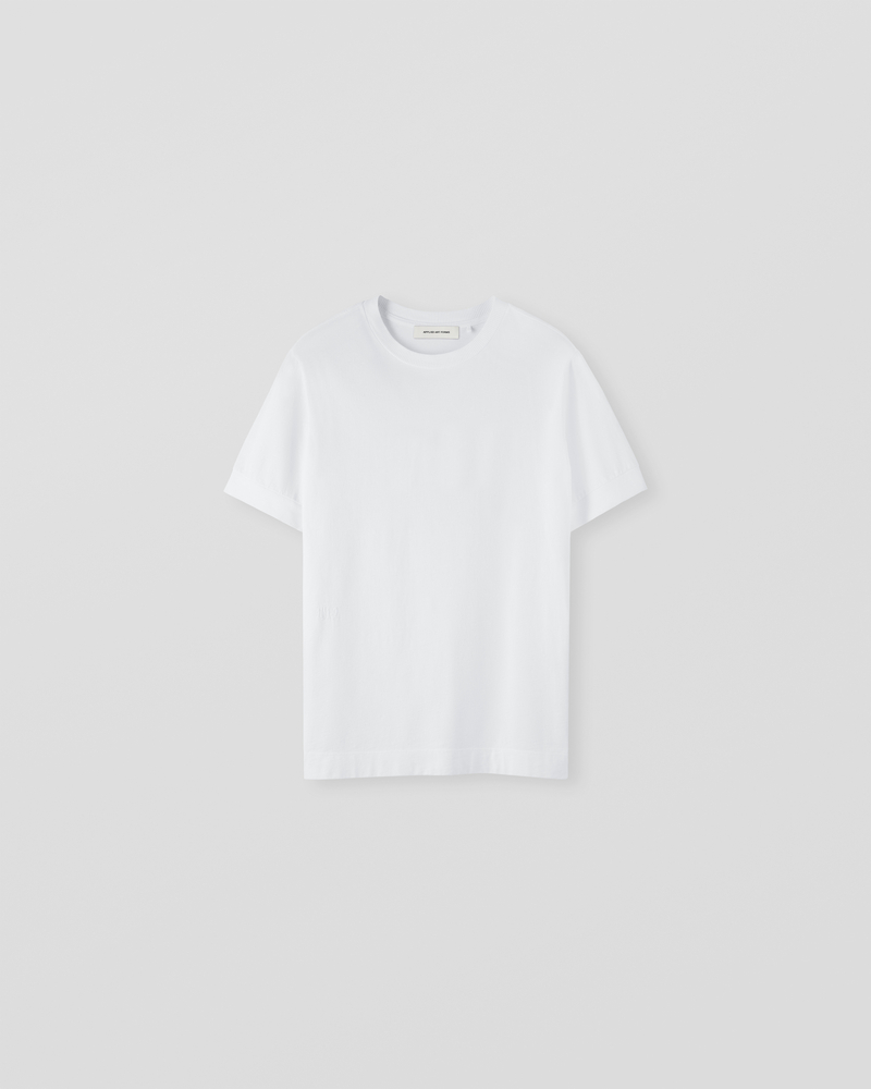 Image of LM1-2 Rib T-Shirt White