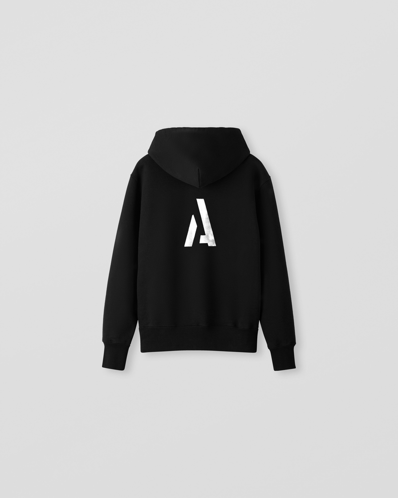 Image of NM2-1 Hoodie Black [Back Logo]