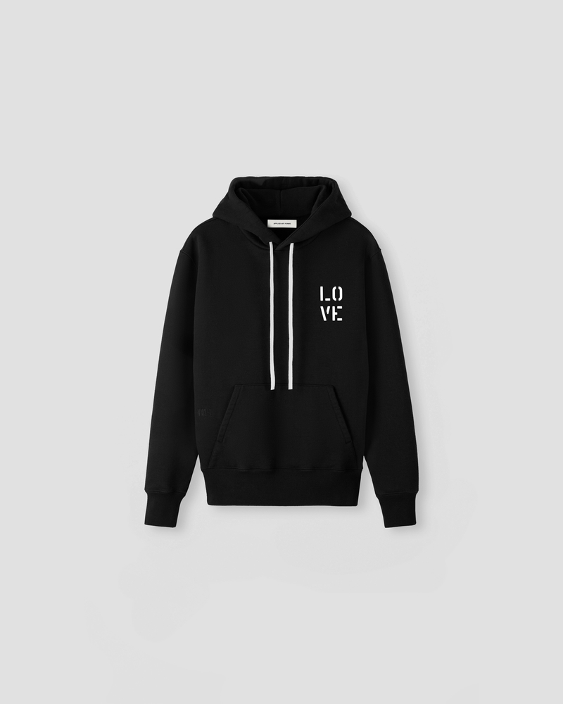 Image of NM2-1 Hoodie Black [LO-VE Logo]
