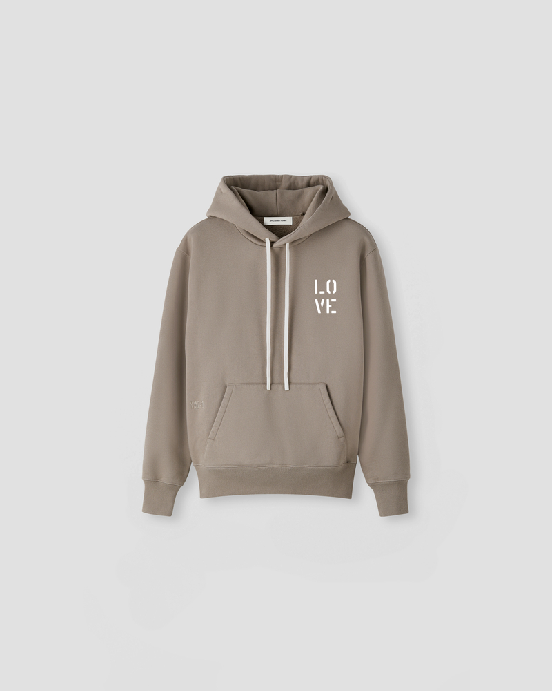 Image of NM2-1 Hoodie Dust Grey [LO-VE Logo]