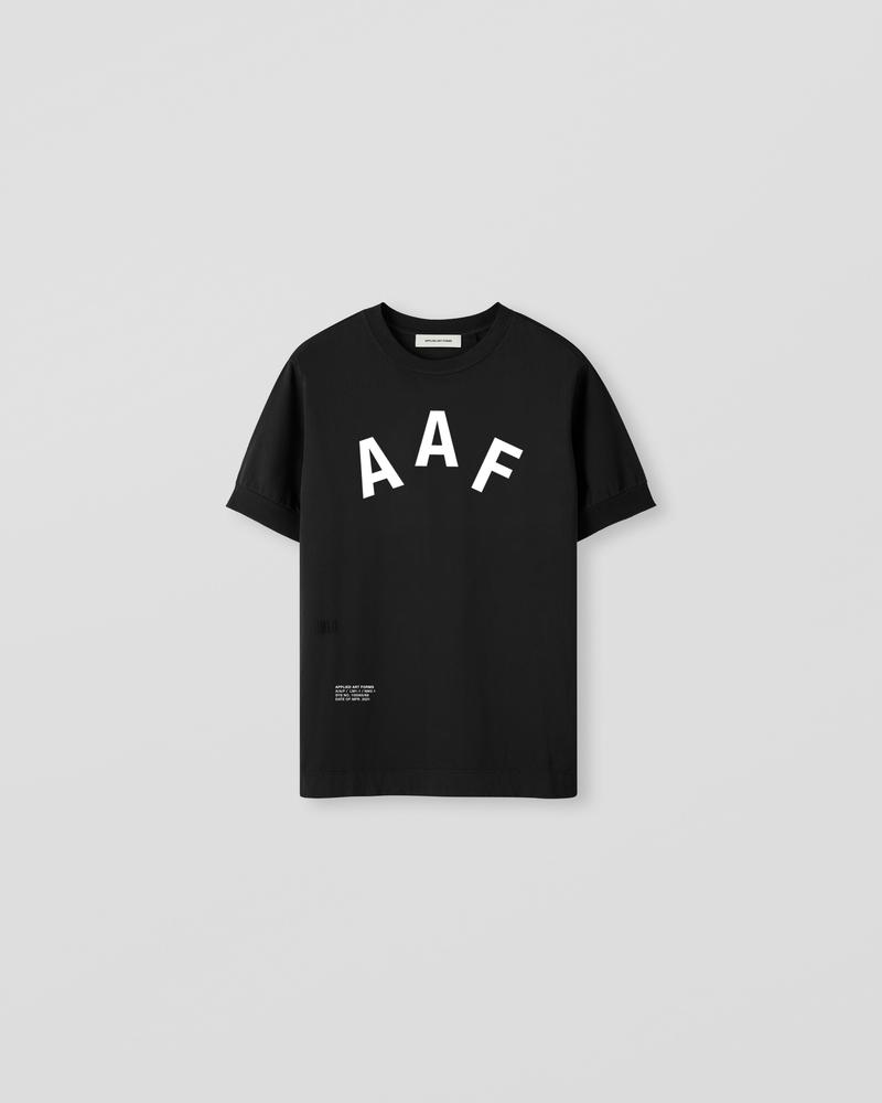Image of LM1-2 Rib T-shirt Black [Team]