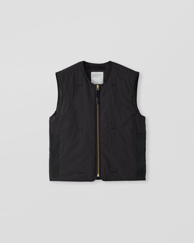 Image of AM2-1C Liner Vest Black