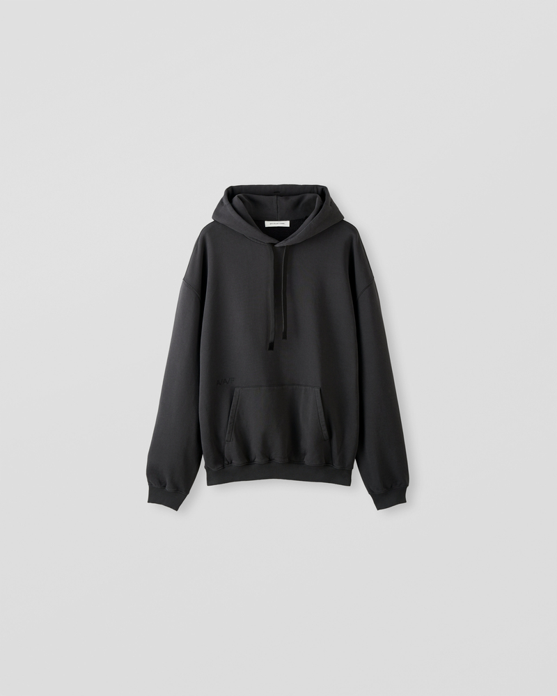 Image of NM2-2 Oversized Hoodie Charcoal