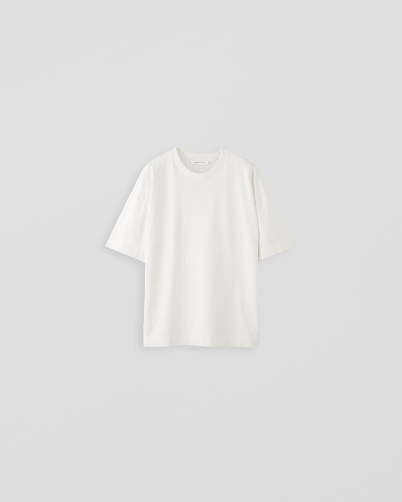 Image of LM1-4 Oversized T-Shirt Light Ecru